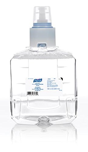 GOJO 1905-02 PURELL LTX-12 LTX Instant Foam Hand Sanitizer, Shape, (Pack of 2)
