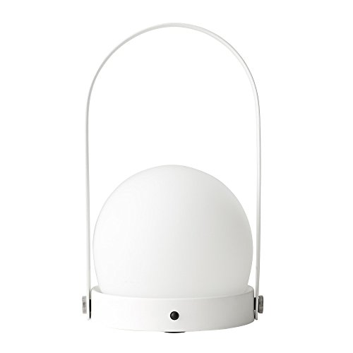 Menu Carrie LED Akkuleuchte tragbar, weiß H 24.5cm Ø 13.5cm