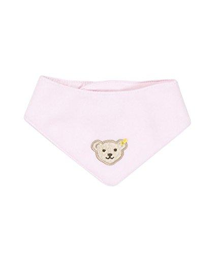 Steiff Steiff Unisex - Baby Halstuch 0006854 Nickytuch Länge 32,5 Cm, Einfarbig, Gr. 32 (Herstellergröße: II), Rosa (Barely Pink 2560)