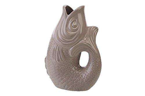 Gift Company - Monsieur Carafon - Vase - Blumenvase - L - Sandstone - 2,7 Liter - 21x12,2x30,7cm
