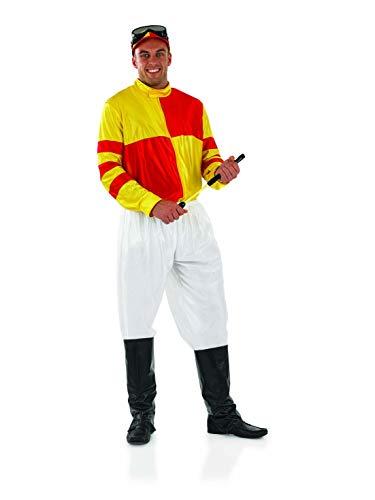 Fun Shack Déguisement Jockey Jaune pour Homme - Taille L