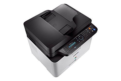 Samsung Xpress SL-C480FN/TEG Farblaser Multifunktionsgerät (mit fax- und Netzwerk-Funktion)
