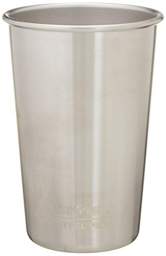 Klean Kanteen Edelstahlbecher 473 ml Cup, Brushed Stainless, 8020095