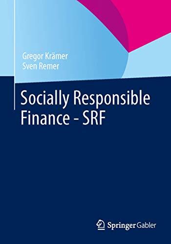 Preisvergleich Produktbild Socially Responsible Finance - SRF