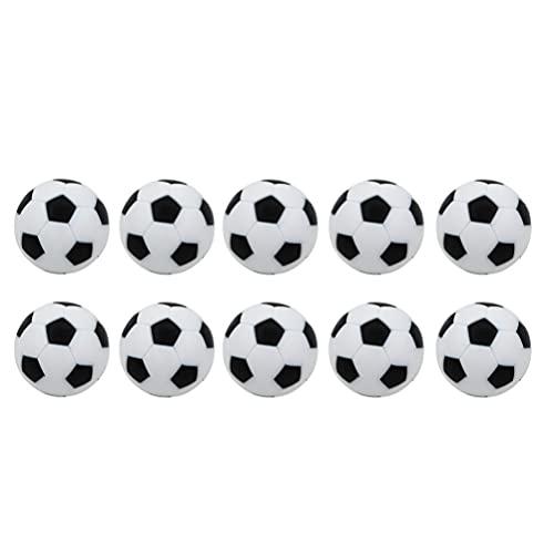 TOYANDONA 18 Piezas de Mesa de Fútbol Futbolines Mini Futbolín de Repuesto para Mesa Juego de Puck de Cabestrillo Rápido Juego de Ajedrez Batalla Diversión Accesorios ( 32Mm )