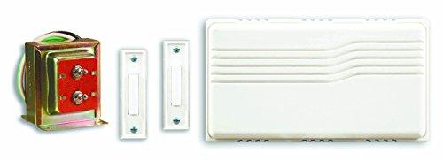Heath Zenith SL-27102-02 Doorbell Contractor Kit, White