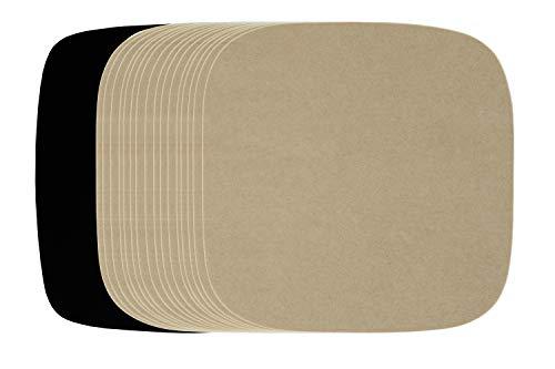 Air Fryer Accessories Paper Liners Compatible with Philips Viva HD9220, Comfee 2.6qt, Nuwave Brio 3qt & 4.5qt, Elite Platinum 3.2qt, Secura XL 5.3qt + More | Unbleached Airfryer Parchment Sheets