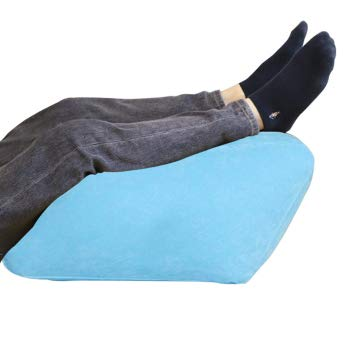 Beinhebekissen, aufblasbarer Schwamm, Beinstütze, reduziert Schwellungen, entspannt Muskeln, lindert Bein- und Gesäßschmerzen, verbessert die Durchblutung, tragbares Beinstützkissen