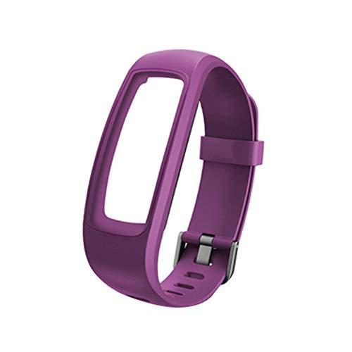 xMxDESiZ Wasserdichtes Armband mit Armband für ID 107 HR Pro Lite Smart Armband für ID107 / Lite/HR/Pro Black