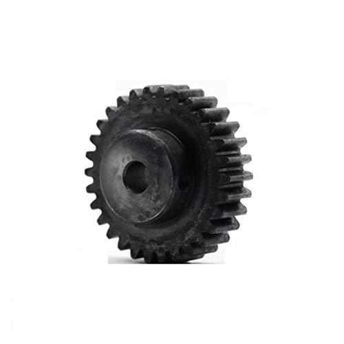 BAIJIAXIUSHANG 1.5M Spur Gear 12T-60T Metal Transmission Gears 45 Steel Pinion 1.5 Mod 12 15 20 25 30 35 40 50 60 Teeth Motor Parts 1pc (Number of Teeth : 1.5M 15T Bore 8mm)