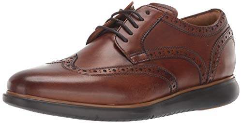 Florsheim Foster Wing Tip Oxford with Sneaker Sole Cognac 9 M (D)