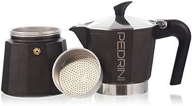 حلة قهوة اسبريسو من بيدريني (كوب واحد)، اسود