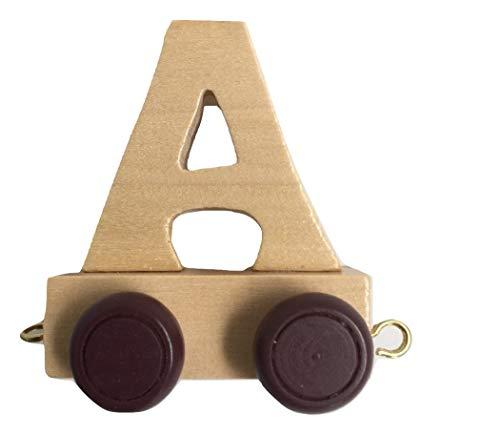 Holz namenszug | Buchstabenzug holzzug | Holz buchstabenzug namenszug für den Namen der Kinder (Buchstabenzug A)