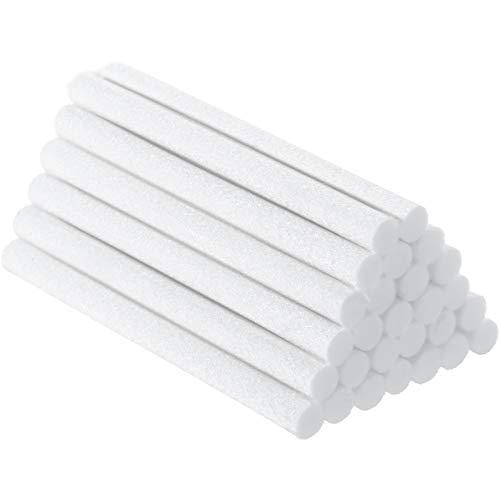 40 Stücke Luftbefeuchter Sticks Baumwoll Filter Nachfüll Stock Dochte Ersatz für Tragbare Persönliche USB Angetrieben Luftbefeuchter im Büro Schlafzimmer (4 Zoll)