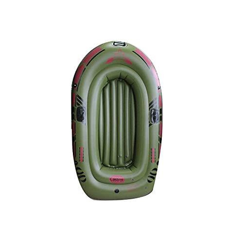 YYSYN Juego de Botes inflables para Adultos: Bote de Pesca Inflable, Persona en Kayak Inflable con remos, Bomba, Balsas de Agua para Lago, Piscina