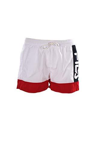 Fila - Bañador 687743 Men Yumma Swim Shorts White - 687743I17 - Weiß, X-Large