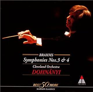 ブラームス:交響曲第3・4番