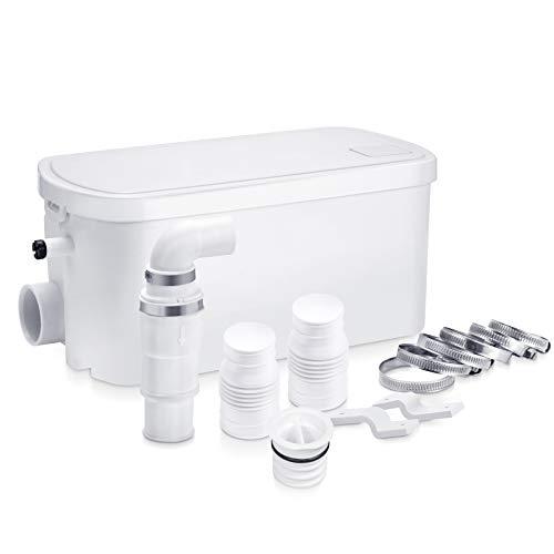 Hebeanlage Sehr Leise Pumpe Abwasser Haushaltspumpe Duschpumpe mit 2 Einlässen 200W