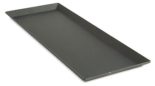 LloydPans Kitchenware Hard Anodized 5 Inch by 15 Inch Flatbread Pizza Pan Made in the USA