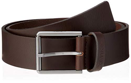 Calvin Klein 40mm Essential Belt Cinturón, Marrón (Dark Brown Gue), 90 para Hombre