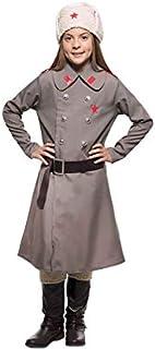 EUROCARNAVALES Disfraz de Ruso Gris para Hombre