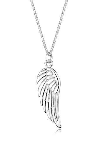 Elli Halskette Damen Flügel Anhänger Religion in 925 Sterling Silber