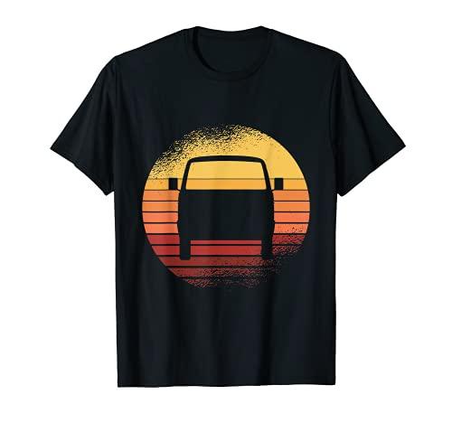 Retro Sunset Kleinbus T3 Syncro T-Shirt