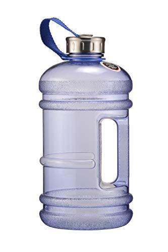 iShake Gallon Plastic Water Bottle, 2.2L (Blue)