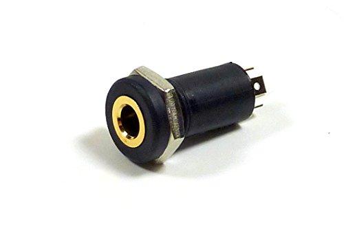 Philmore 3.5mm 1/8'Isolated  Mini  Stereo Female Panel Mount  Headphone Jack ; 70-534