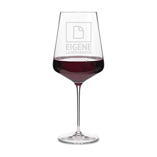 Leonardo Rotweinglas XXL 750 ml individuelle Gravur Geschenkidee für Frauen Weinglas - Eigene Gravur