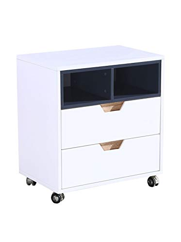 SuperStudio Lo + deModa Nordika – Caisson à tiroirs de Bureau, Multicolore