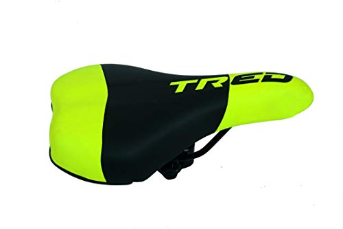 Tred Bicycle Complete Saddle (MTB) (Fluorescent Green Black)