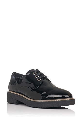 María jaén Zapato Oxford de Charol