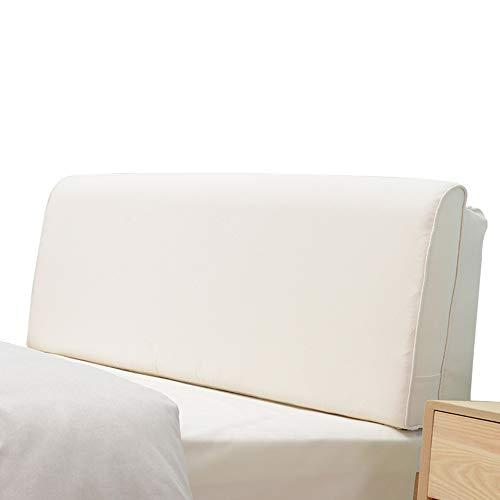 Xuping Coussin de Chevet/Double Pad arrière Lin Pad Taille Lecture Pad canapé Cou Oreiller tête de lit Non (Color : C, Size : 120 * 60cm)