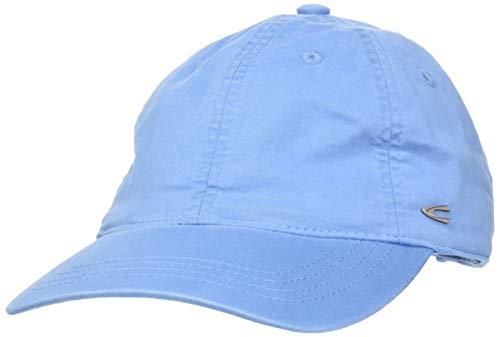 camel active Herren CAP-6-PANEL Schirmmütze, Blau (Aqua Blue 41), Large (Herstellergröße: L)