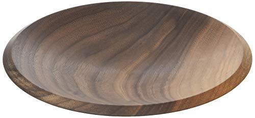 Continenta Walnut Wood 4230Walnussholz Schüssel, Dunkelbraun
