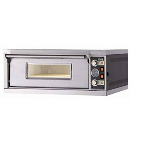 Best Deals! MORETTI FORNI PM 60.60 iDeck Manual Electric Pizza Oven 61x66x14 cm chamber. 1 Deck. 220...