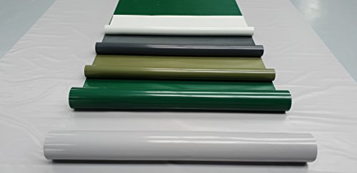 (1,5m breit) LKW Plane/PVC-Plane 600g/m² - Meterware ohne Ösen, Grün, Olivgrün, Lichtgrau, Grau, Anthrazit - Gewebeplane Holzabdeckplane, Sichtschutz Camping Zaunplane Balkonschutz (Grau RAL7004)