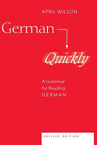 Compare Textbook Prices for German Quickly: A Grammar for Reading German American University Studies 7 Edition ISBN 9780820467597 by Wilson, April
