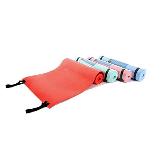 Cisne 2013, S.L. Esterilla de Aluminio EVA para Acampada, Dormir, Yoga, Multiusos, a Prueba de Humedad. Esterilla Aislante para Exteriores 50x180cm Color Turquesa.