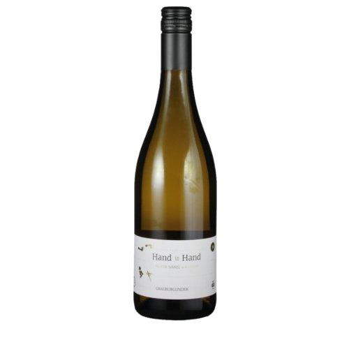 Grauburgunder Hand in Hand 2017 - Meyer-Näkel & Klumpp | trockener Weißwein | deutscher Wein aus Baden | 1 x 0,75 Liter
