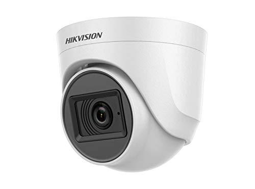 Cámara Turbo HD Dome 5 Mpx Óptica fija con micrófono integrado DS-2CE76H0T-ITPFS Hikvision