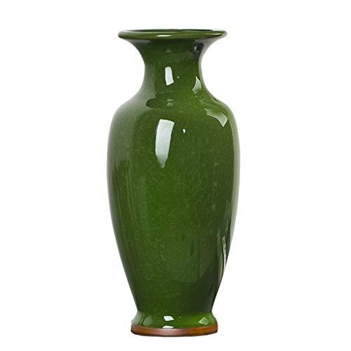 JCOCO JingDeZhen Vintage Crack Vase, Moderne chinesische Jingdezhen große Bodenvase, Kunst dekorative Vase für Haushalt, Büro, Hochzeit, Party, Höhe 52 cm (20 Zoll)