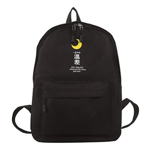 Poachers bolsos mujer baratos grandes mochilas antirrobo mujer baratas Bolso del estudiante de la mochila Oxford femenina Bolso fresco del viaje de la moda de la mochila del viento