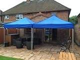 ASIAPACIFIC MARKETING Gazebo Portable Tent for Garden, Picnic, Camping (10X10, Blue)