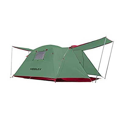 Amazon - Save 61%: HODLEX Camping Outdoor Tent Durable Waterproof Family Large Tents Easy S…