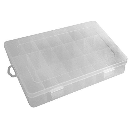 Wadoy Schmuck Perlen Box Perlenbox Sortierbox Sortierkasten