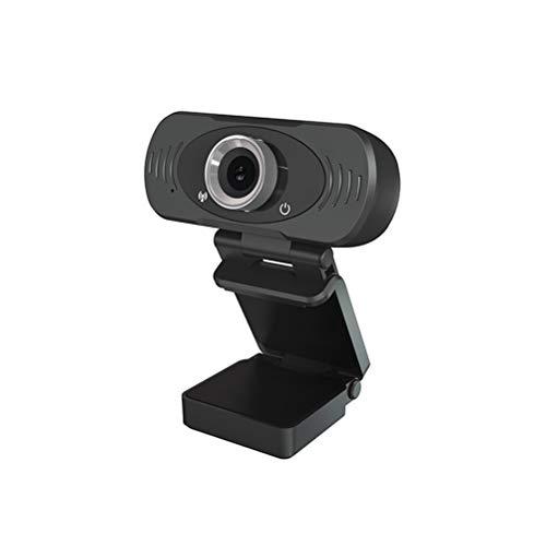 WUHUAROU HD USB Webcam Play and Plug Top Laptop Smart TV para transmisión de videollamadas Confere Confere 1080p Webcam con micrófono