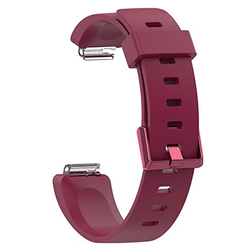 Guangcailun Replacement For inspire/inspire HR Wristband Strap Silicone Adjustable Buckle Design Bracelet Strap