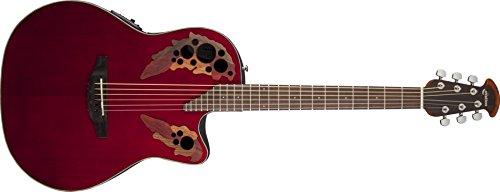 CE44-RR Celebrity Elite Ruby Red